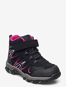 BOOTS - vinter boots - black/fuchsia
