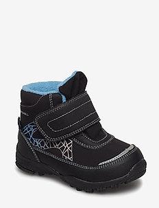 BOOTS - BLACK/BLUE