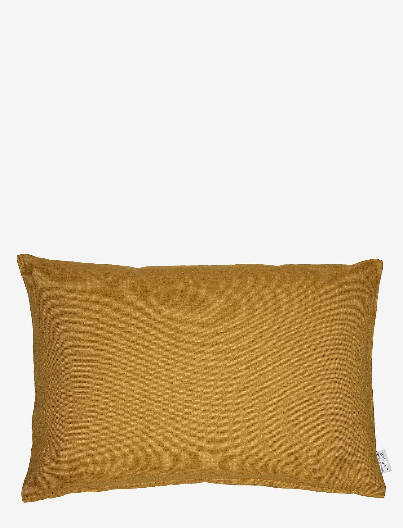 H. Skjalm P. - Aya Cushion Cover - coussins - mustard - 0