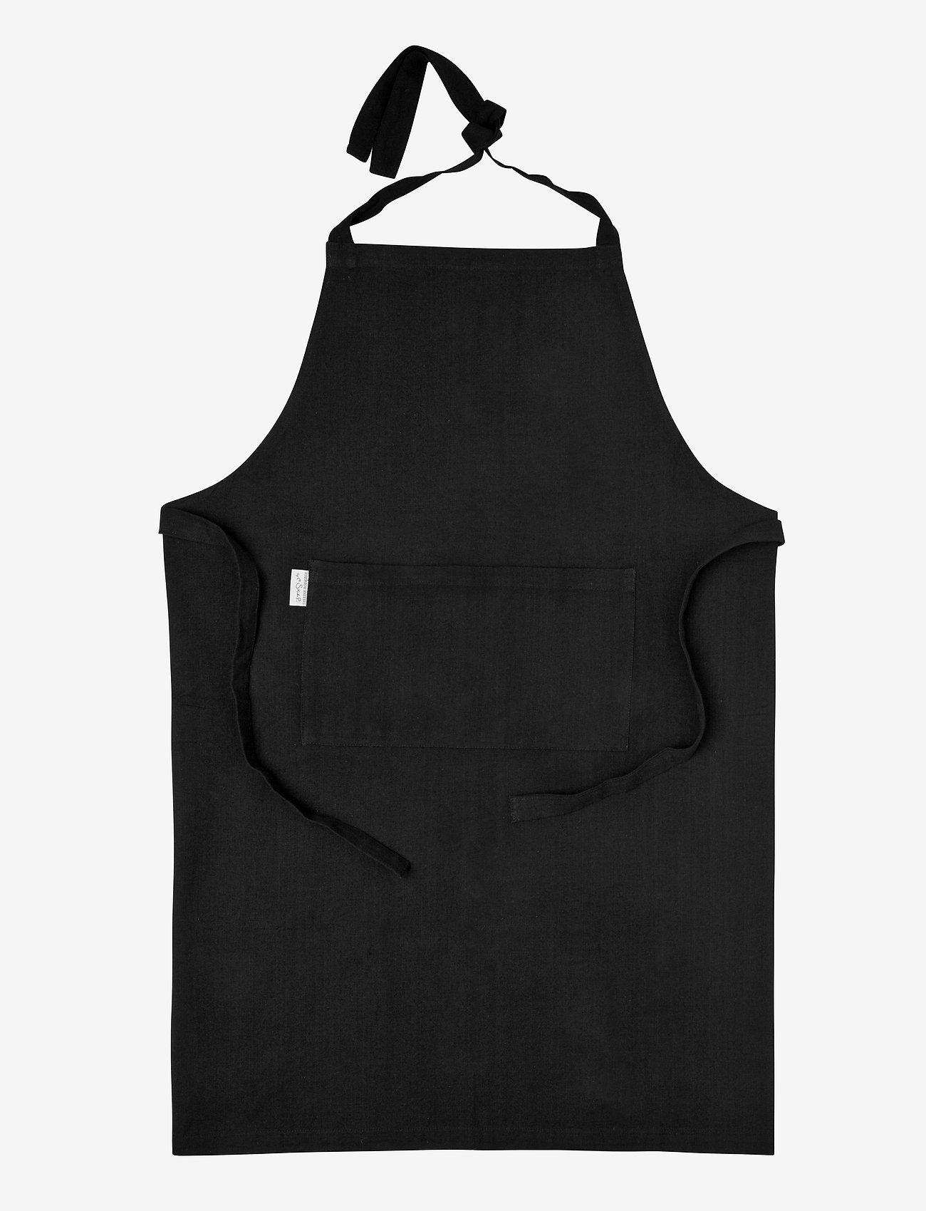 H. Skjalm P. - Joe forklæde - forklæder - black - 0