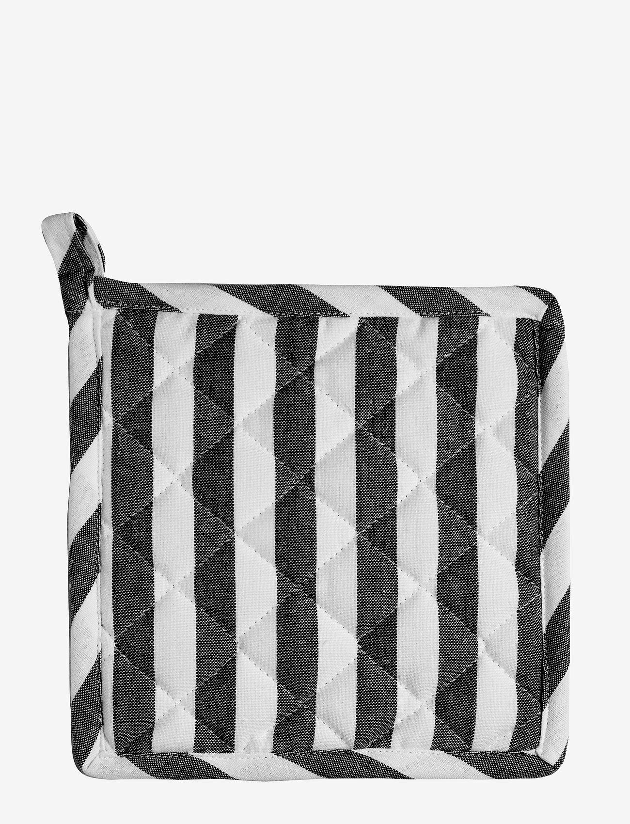 H. Skjalm P. - James grydelap - grydelapper & ovnhandsker - white/grey - 0
