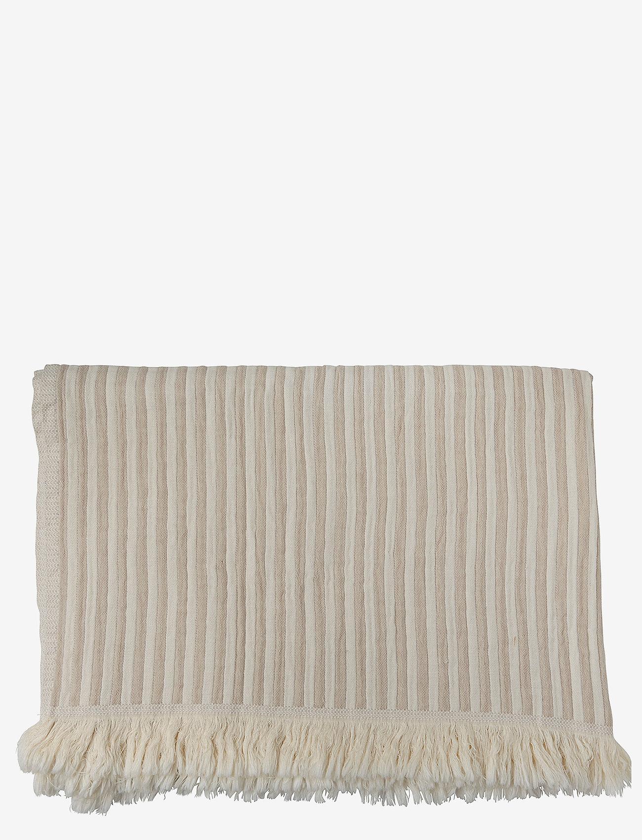 H. Skjalm P. - Indy Towel - hand towels & bath towels - white/beige - 0