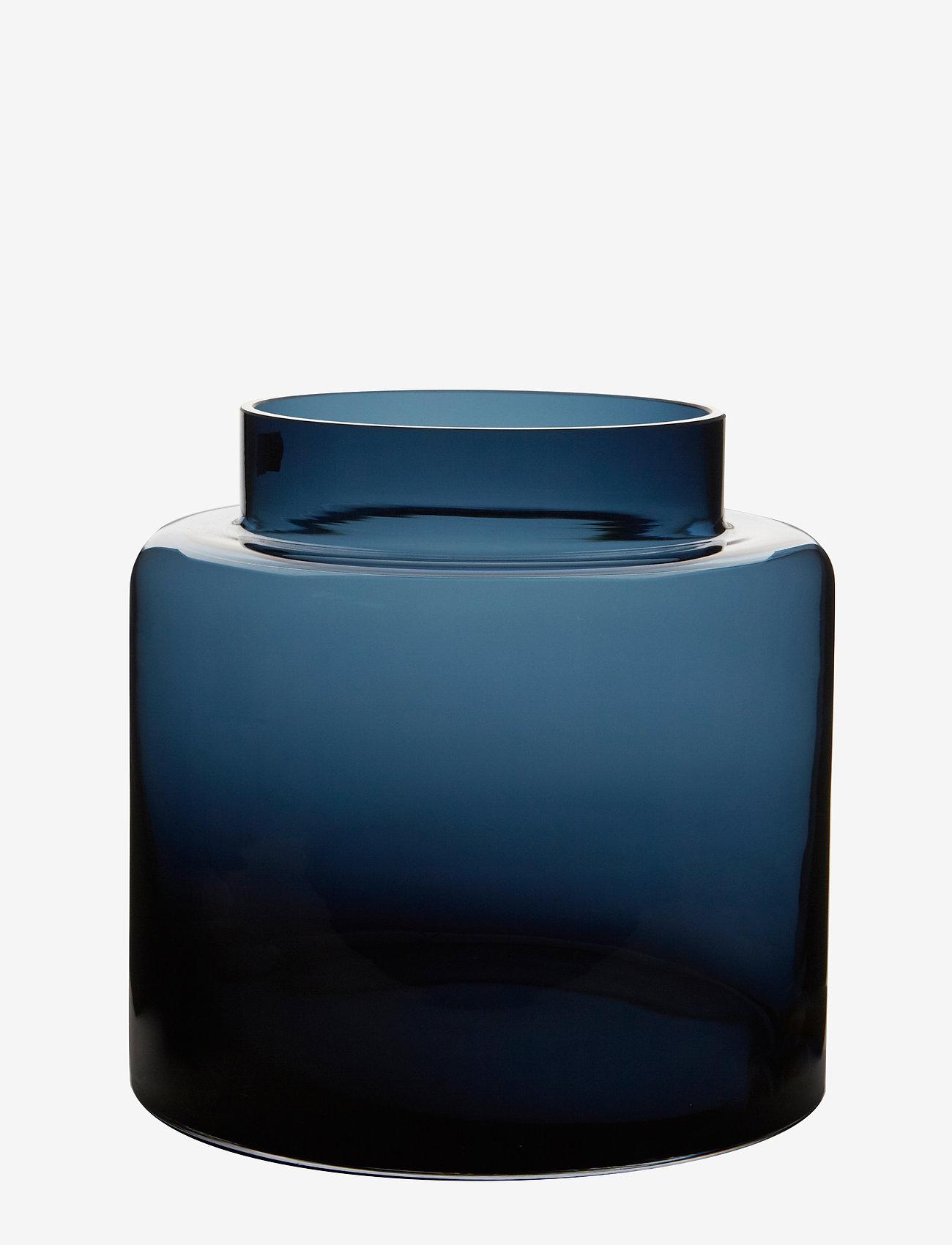 H. Skjalm P. - Alpha vase - vaser - blue - 0