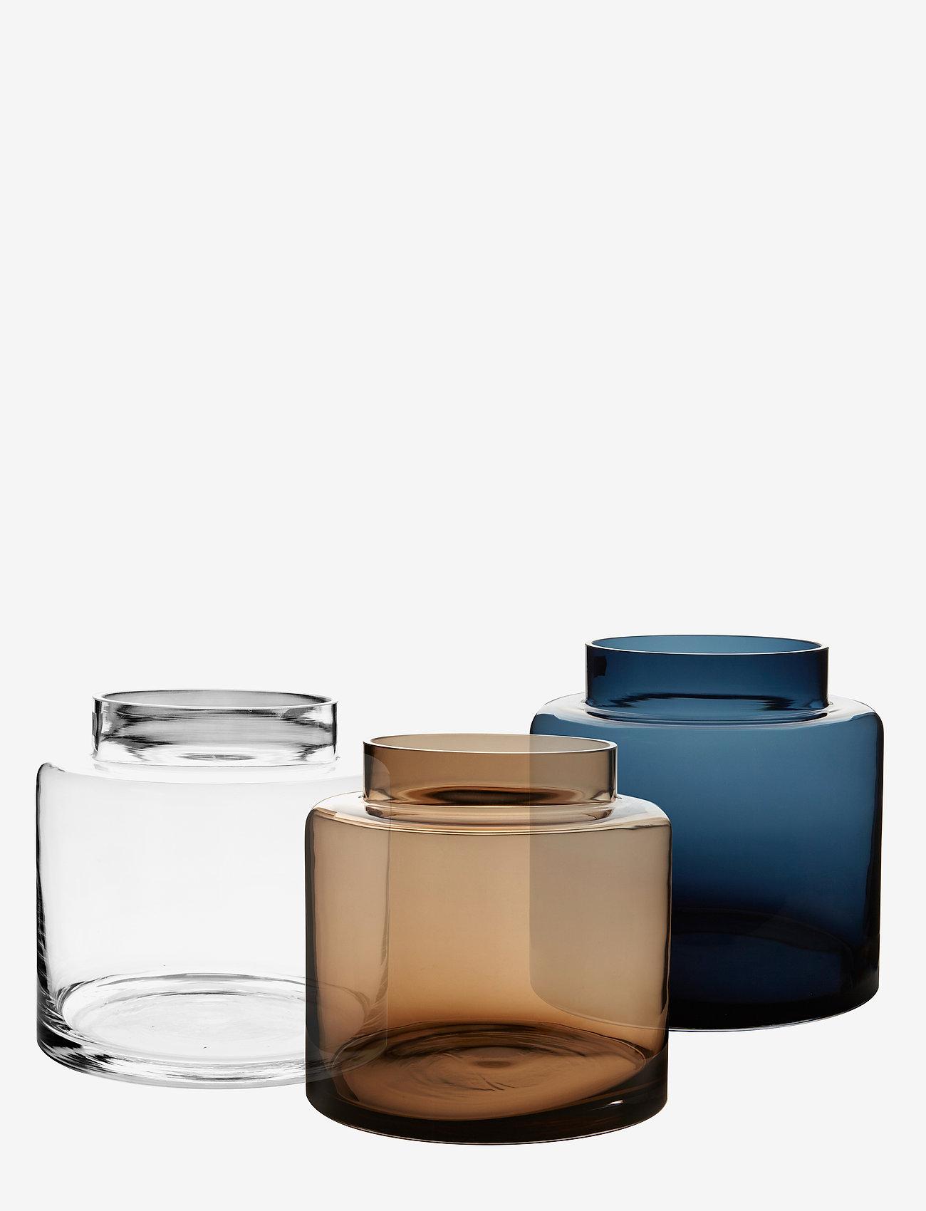H. Skjalm P. - Alpha vase - vaser - clear - 1