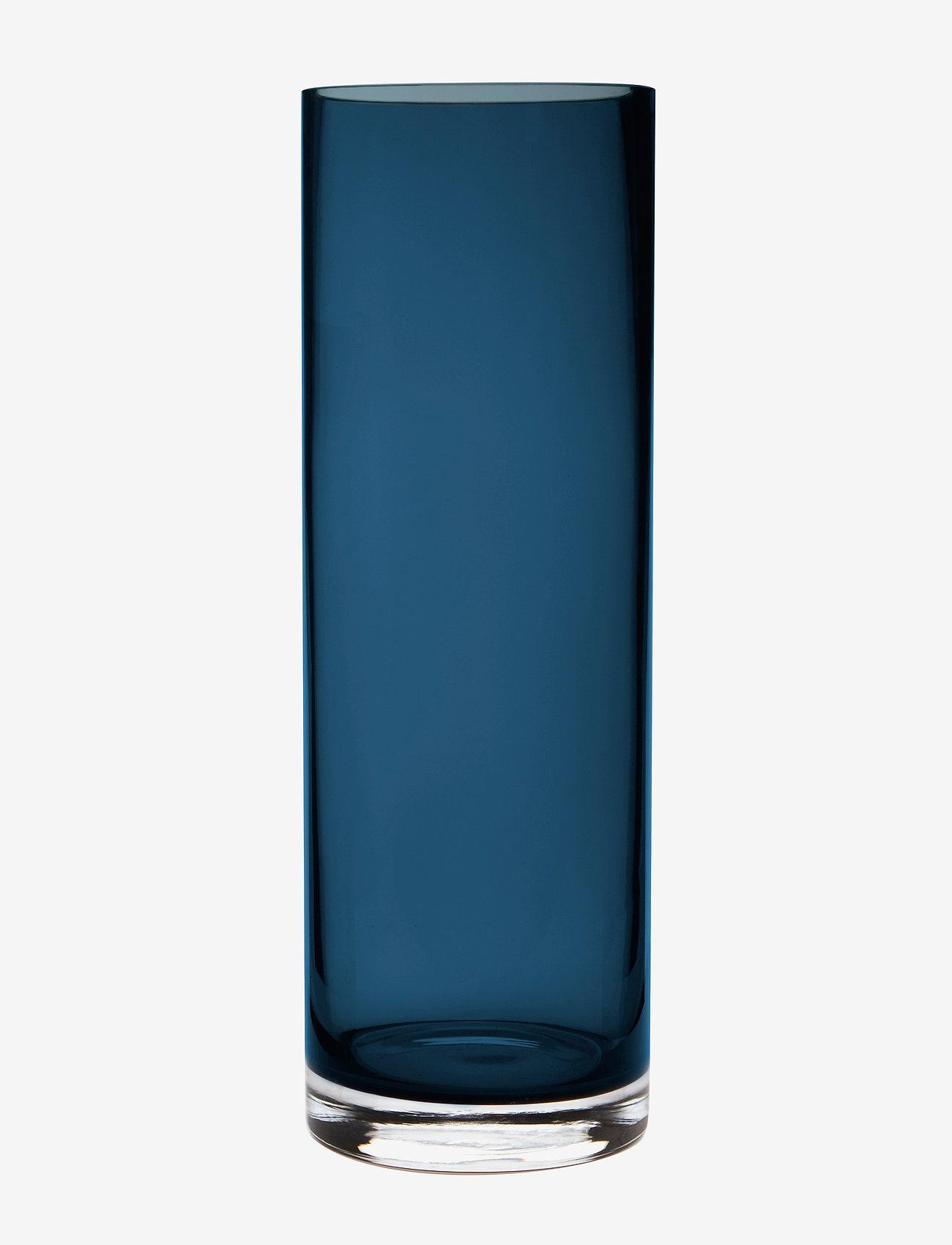 H. Skjalm P. - Aslaug vase - vaser - blue - 0