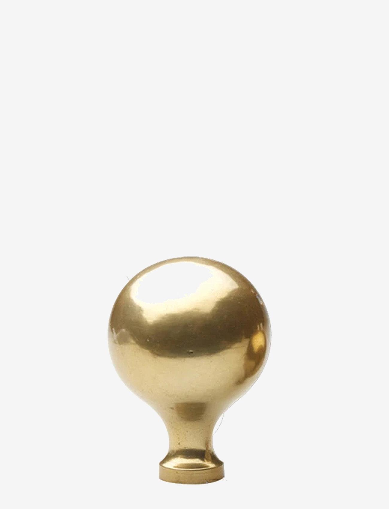 H. Skjalm P. - Kugle knage - knager & knagerækker - brass - 0