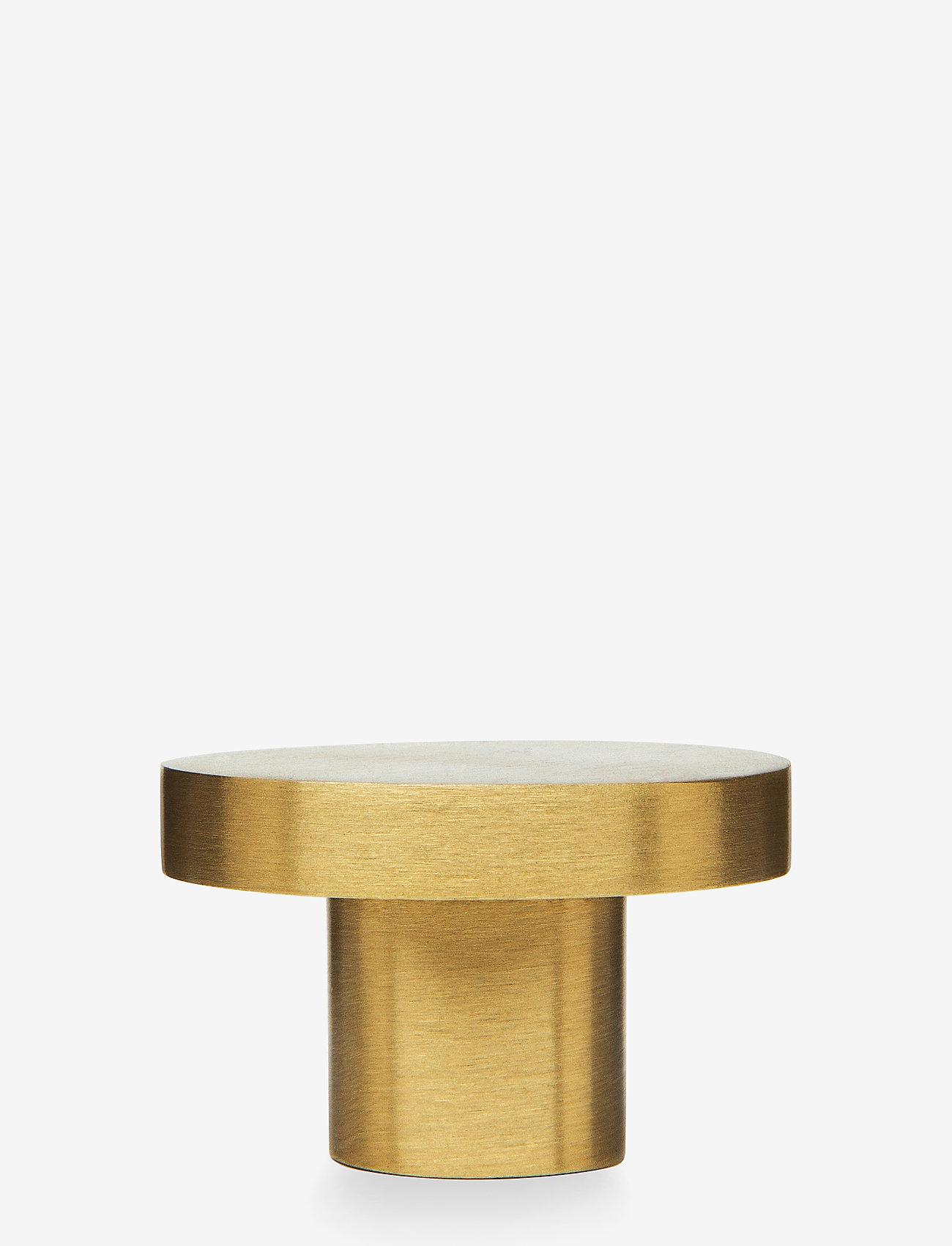 H. Skjalm P. - Knage - knager & knagerækker - matt brass - 0