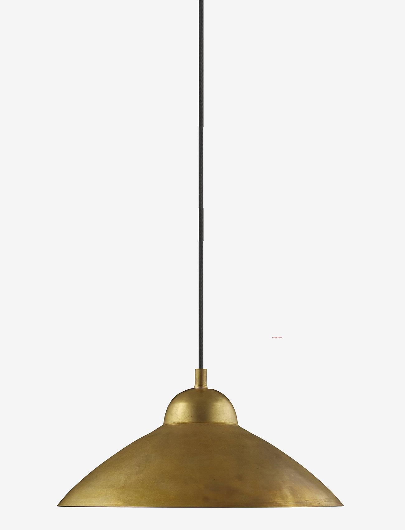 H. Skjalm P. - Studio pendel - pendler - raw brass - 0