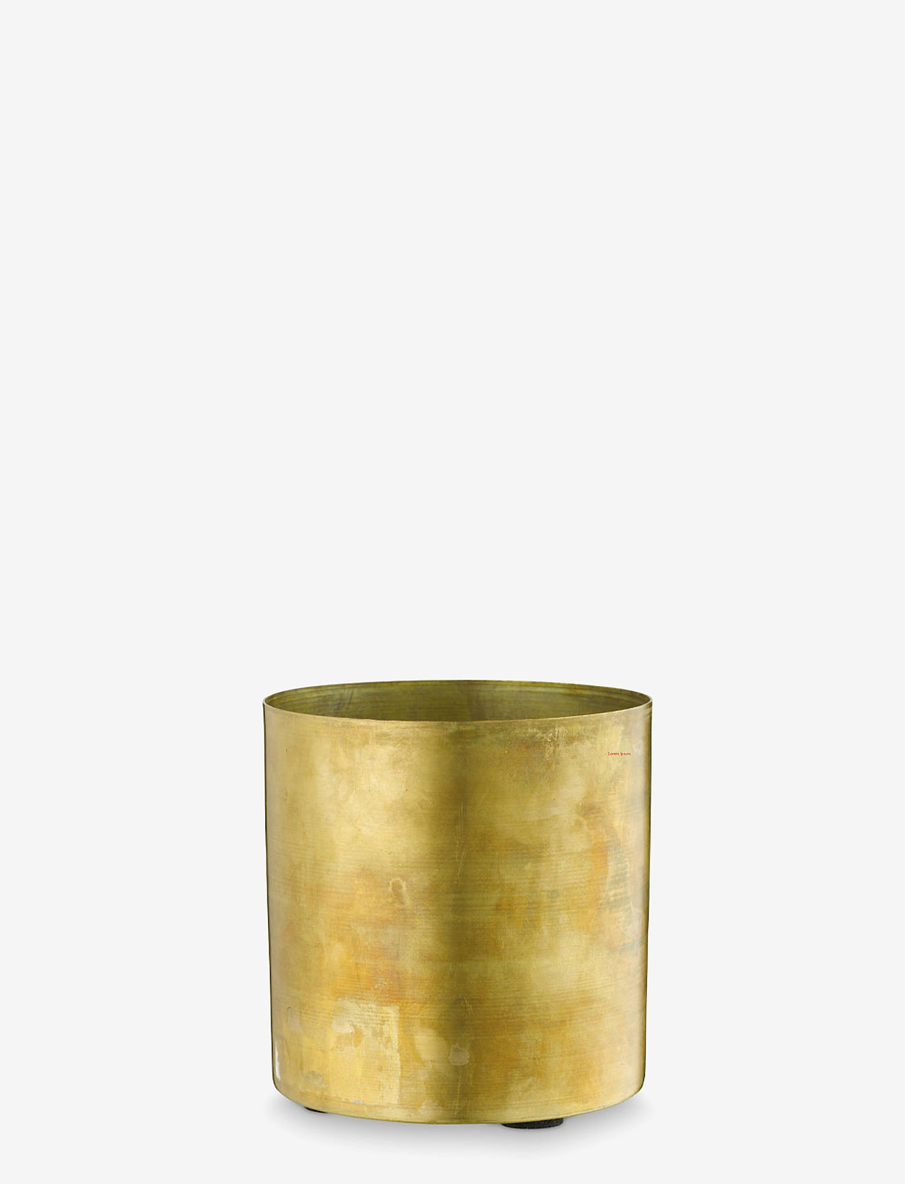 H. Skjalm P. - Skjuler - krukker - raw brass - 0