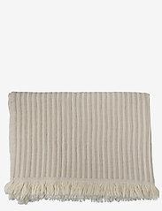 Indy håndklæde - WHITE/BEIGE