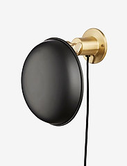 Væglampe - BRASS/BLACK