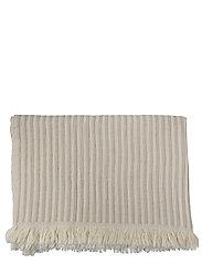 Indy Towel - WHITE/BEIGE