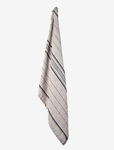 Charlie Tea Towel - kjøkkenhåndklær - nature/black