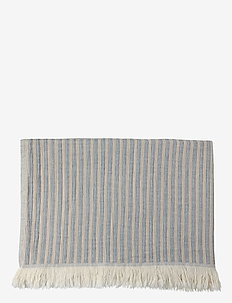 Indy Towel - hand towels & bath towels - blue/beige