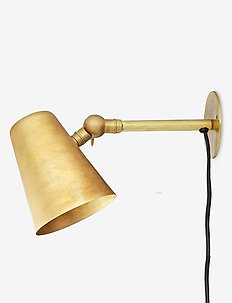Wall Lamp - wall lamps - raw brass