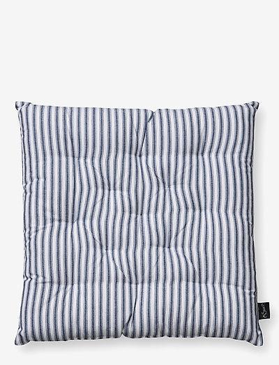 Emil hynde m/fyld - udendørspuder og -hynder - off-white/blue