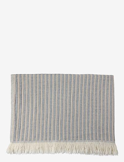 Indy håndklæde - håndklæder - blue/beige