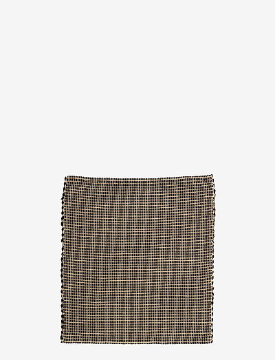 Alex gulvtæppe - tæpper - black