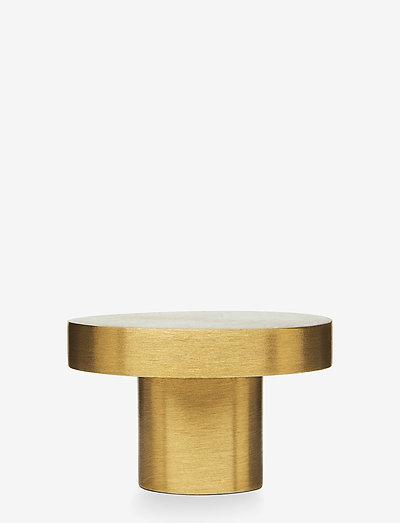 Knage - knager & knopper - matt brass