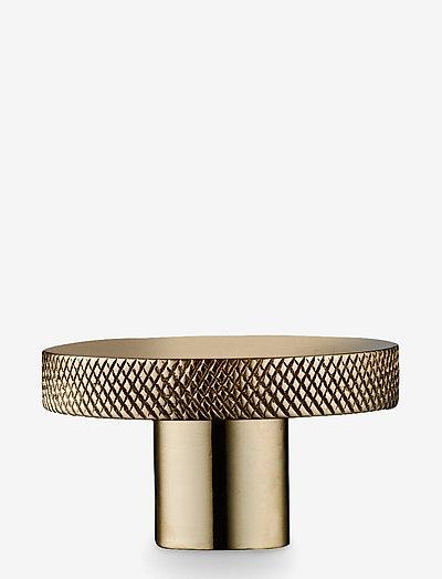 Knage - knager & knopper - polished brass