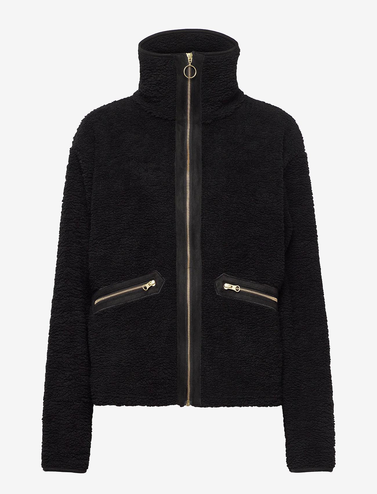 H2O Fagerholt - Yin and Yang Pile Jacket - fleece jassen - black - 0