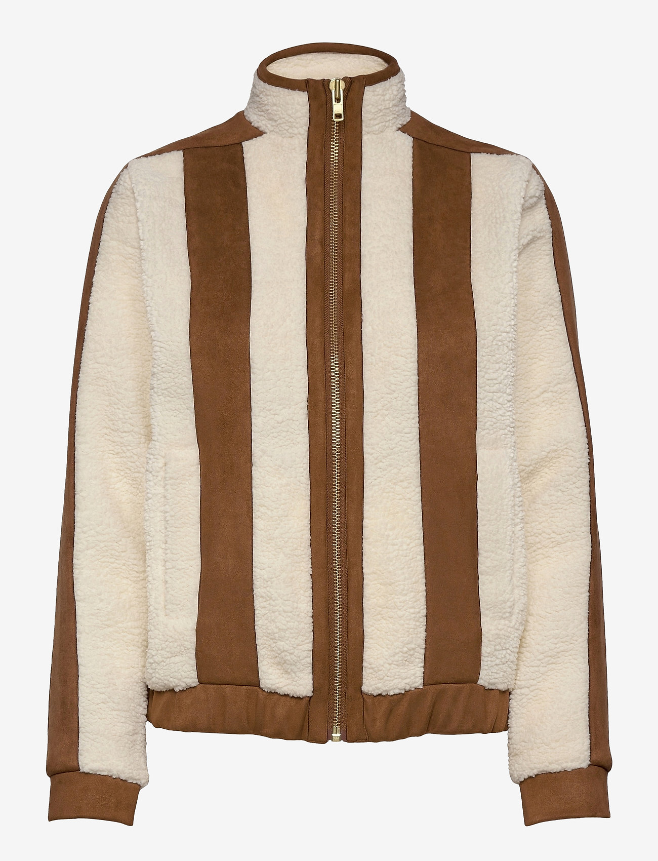 H2O Fagerholt - Pilot Pile Jacket - sweatshirts & hoodies - off white - 0