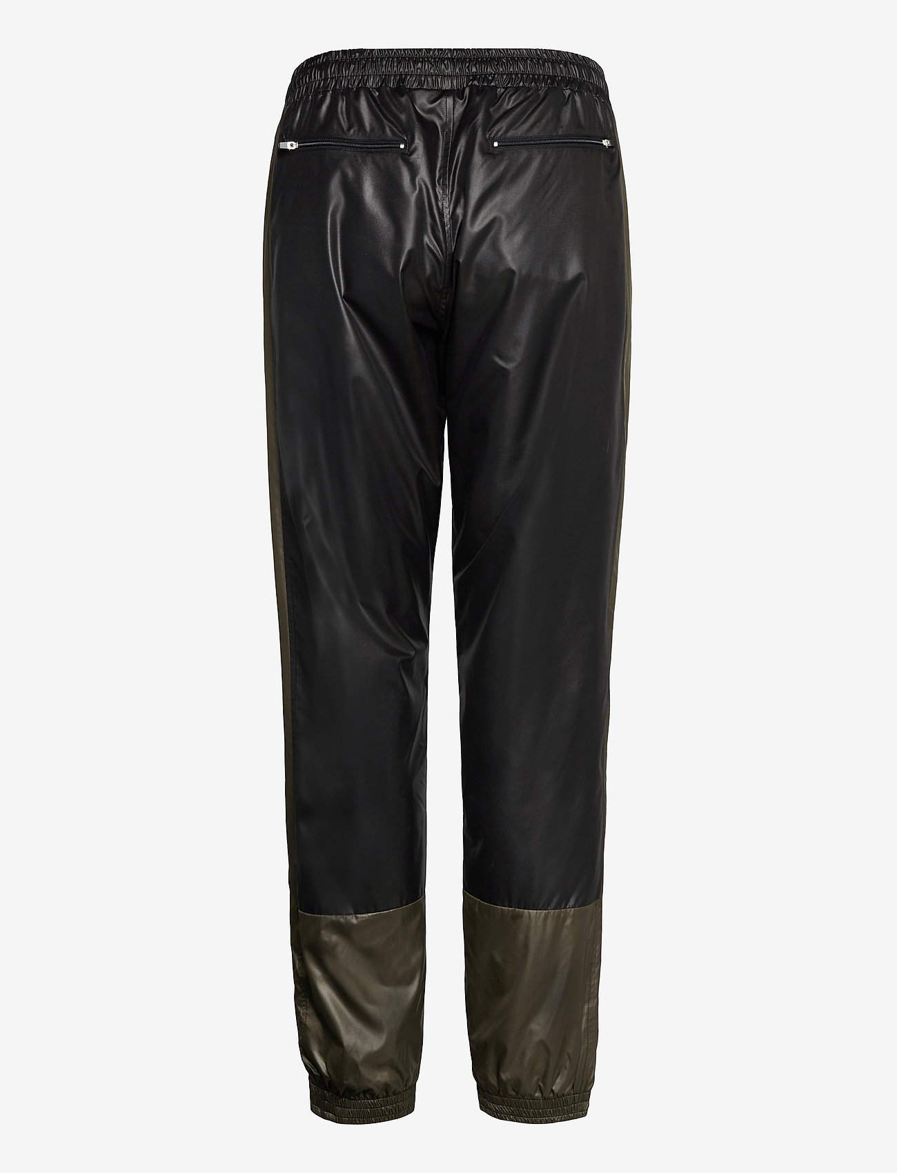 H2O Fagerholt - Put On Track Pants - kleidung - black/army - 1