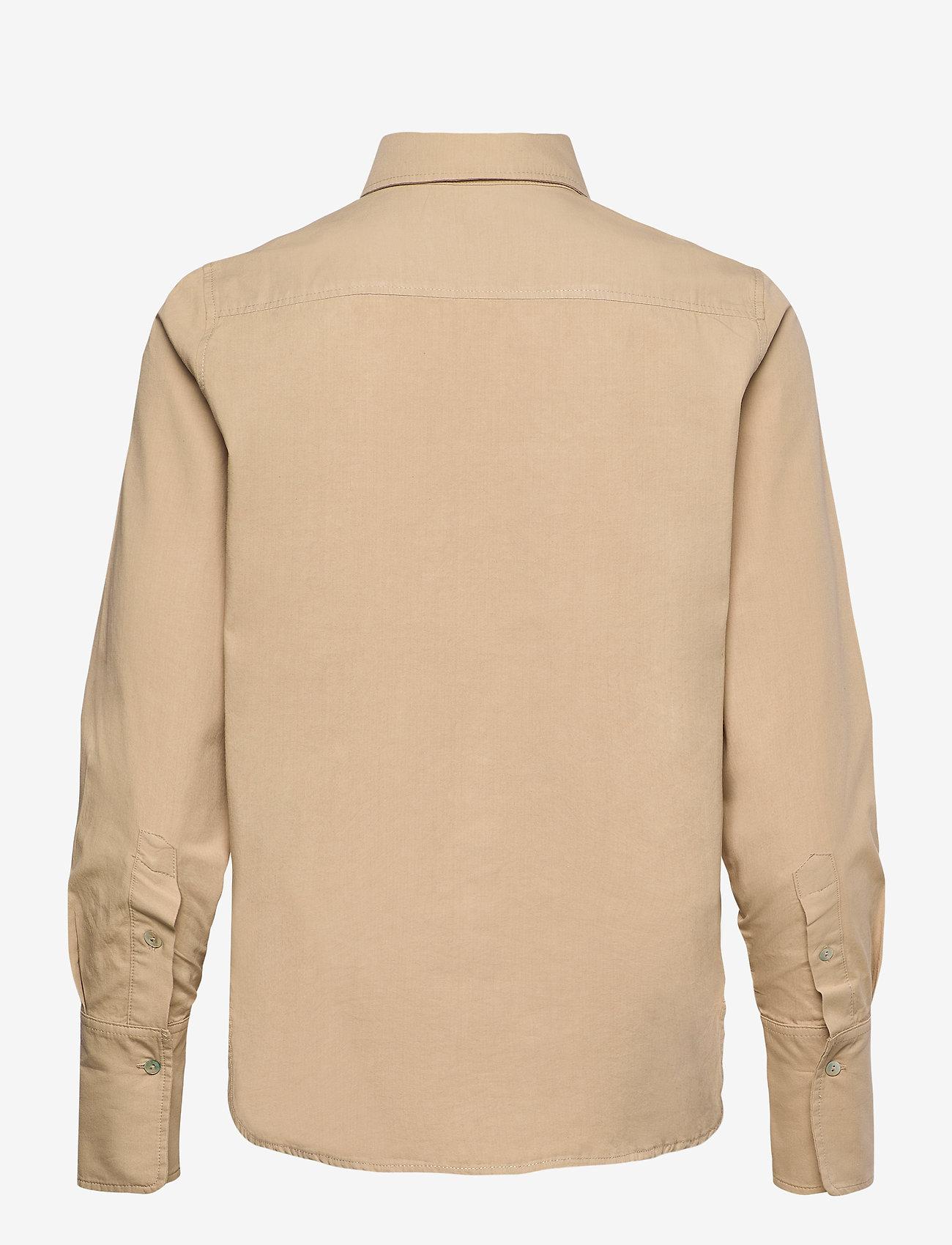 H2O Fagerholt - Safari Shirt - chemises en jeans - light khaki - 1