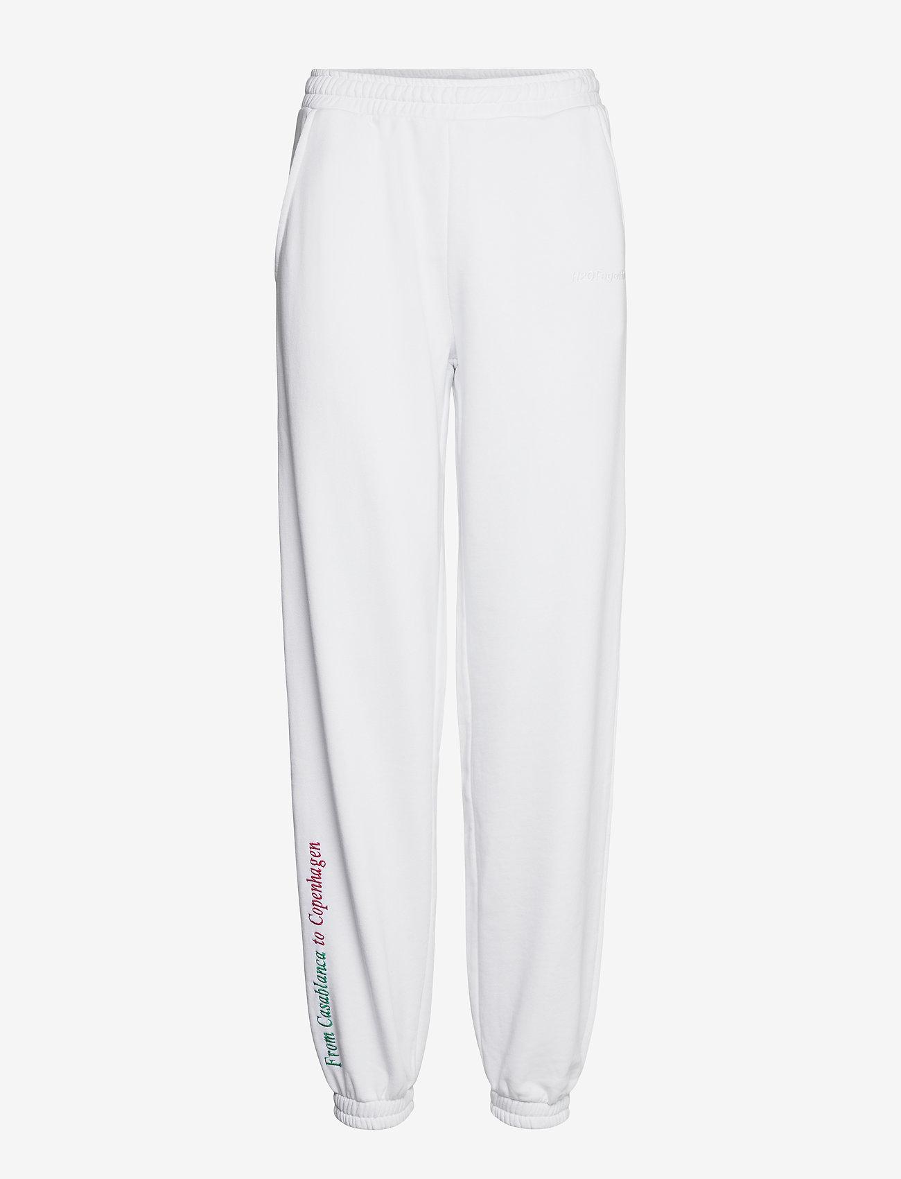 H2O Fagerholt - Casablanca Sweat Pants - kleidung - white - 0
