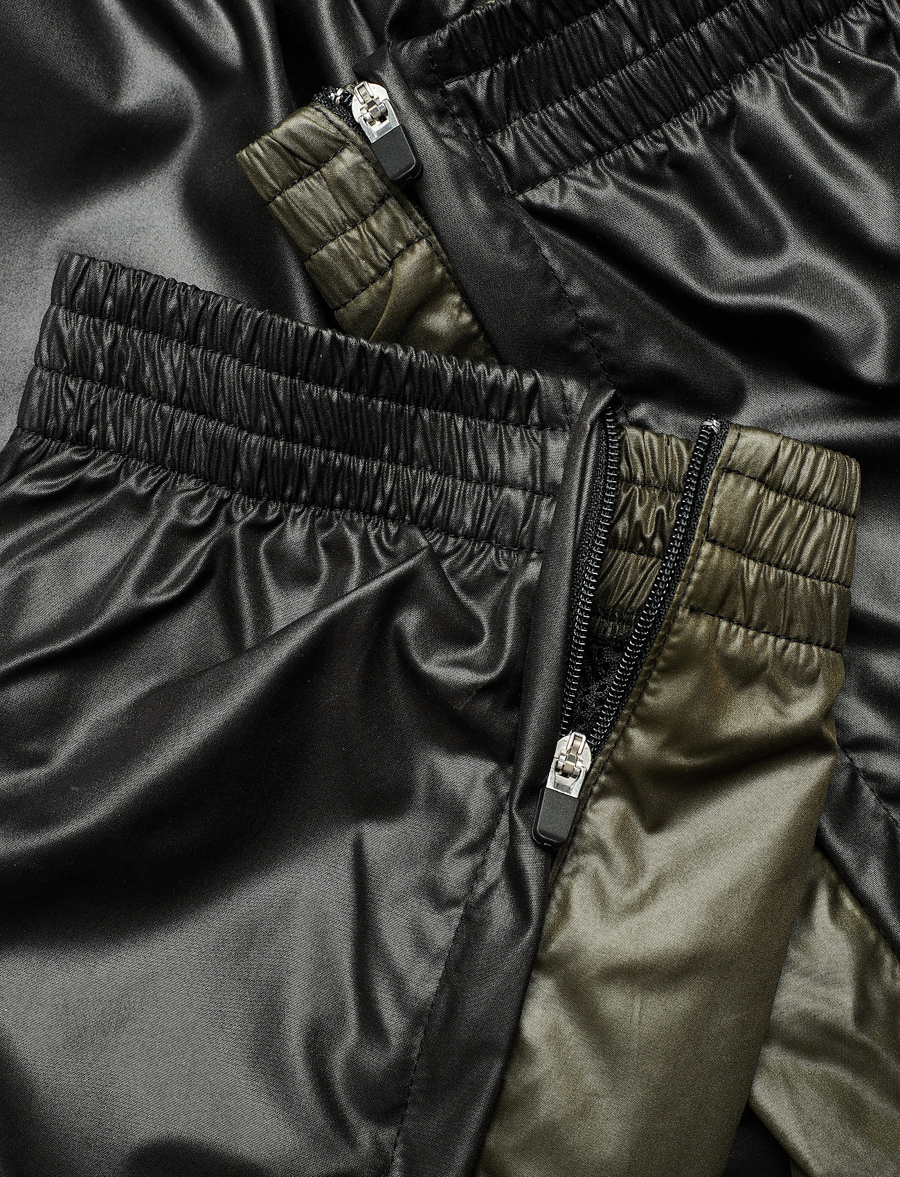 H2O Fagerholt - Put On Track Pants - kleidung - black/army - 4