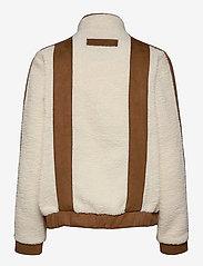 H2O Fagerholt - Pilot Pile Jacket - sweatshirts & hoodies - off white - 1