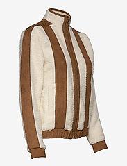 H2O Fagerholt - Pilot Pile Jacket - sweatshirts & hoodies - off white - 2