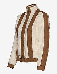 H2O Fagerholt - Pilot Pile Jacket - sweatshirts & hoodies - off white - 3