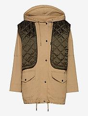 H2O Fagerholt - Field Jacket - vestes utilitaires - khaki - 0