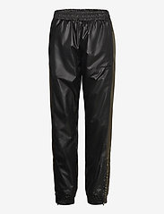 H2O Fagerholt - Put On Track Pants - kleidung - black/army - 0
