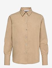 H2O Fagerholt - Safari Shirt - chemises en jeans - light khaki - 0