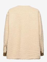 H2O Fagerholt - Checket Pile Shirt Jacket - sweatshirts en hoodies - beige - 1