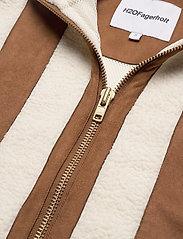 H2O Fagerholt - Pilot Pile Jacket - sweatshirts & hoodies - off white - 4