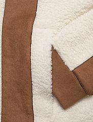 H2O Fagerholt - Pilot Pile Jacket - sweatshirts & hoodies - off white - 5