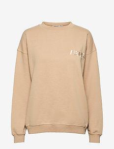 Cream Doctor 1 O'neck - sweatshirts - light khaki