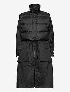 Rain Coat - tøj - black