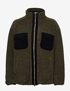 7'AM Mountain Pile - sweatshirts en hoodies - forest green