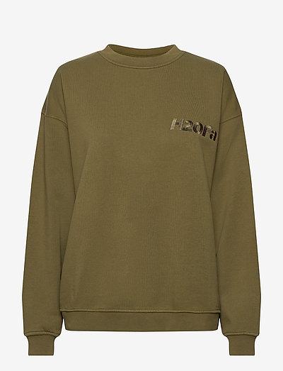 Cream Doctor 1 O'neck - sweatshirts & hættetrøjer - army