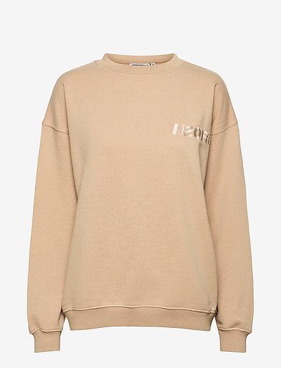 Cream Doctor 1 O'neck - sweatshirts en hoodies - light khaki