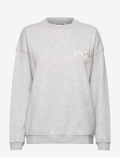 Cream Doctor 1 O'neck - sweatshirts & hættetrøjer - lt. grey mel