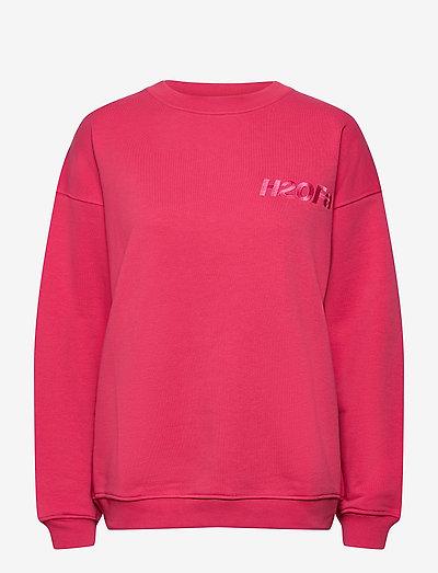 Cream Doctor 1 O'neck - sweatshirts en hoodies - raspberry