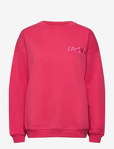 Cream Doctor 1 O'neck - sweatshirts & hættetrøjer - raspberry