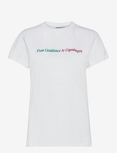 The Danish Tee - t-shirts & tops - white