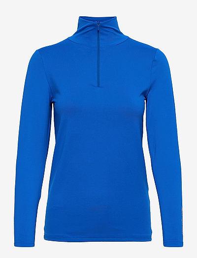 High high Neck - tops met lange mouwen - electro blue