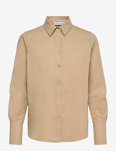 Safari Shirt - overhemden met lange mouwen - light khaki
